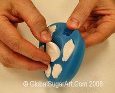 Tips for using gumpaste molds