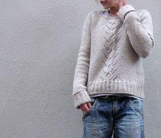 Modèle de tricot - Pull MAILIN