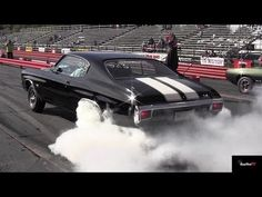 Ram Air IV GTO vs Chevelle SS 454 LS6 - 1/4 mile Drag Race Video and Massive Burnout - Road Test TV - YouTube