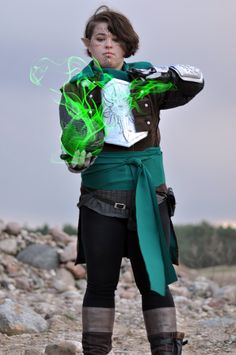 Inquisitor Lavellan Cosplay  #DragonAgeCospaly #Cospaly #DragonAge