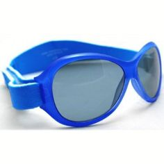 5389ac9ed12 KidsBanz Retro Banz Wrap Around Sunglasses 100 UV Protection Blue Years