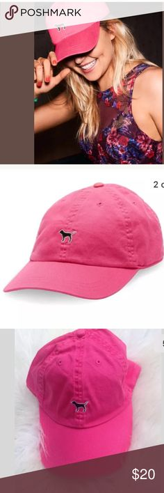 Victoria's Secret PINK Baseball Hat Cap Gypsy Rose Brand new with tags! Adjustable. One size fits all. PINK Victoria's Secret Accessories Hats