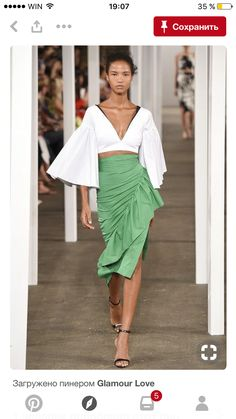 Trendy Beachwear for the Summer Milly Spring 2017 Ready-to-Wear Fashion Show Discovred by : Azza Shesheny Fashion 2017, New York Fashion, Look Fashion, Runway Fashion, Spring Fashion, High Fashion, Fashion Show, Fashion Outfits, Fashion Design