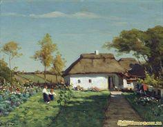 """"""" Ukrains'ka saduba"""", painting by Zarubin, from Iryna with love"""
