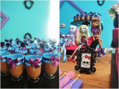 decoracao festa monster high