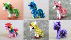 Custom Ponies by DragonsAndBeasties.deviantart.com on @deviantART