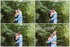 Photo by Nicole Goddard Photography, Inc. Engagement Photos in Discovery Park, Seattle Nature Love Photos.