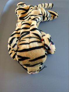 214ef3af11f Items similar to Stripes the Tiger - Ty Beanie Babies - 1995 on Etsy