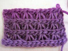 Triplets Stitch - Links Tutorial ♡ Teresa Restegui http://www.pinterest.com/teretegui/ ♡