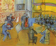 TICMUSart: El Quinteto. Raoul Dufy (1948) (I.M.)