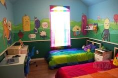 This Adventure Time bedroom. | The 32 Geekiest Bedrooms Of All Time