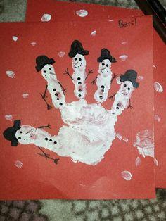 el baskısından kardan adam ⛄