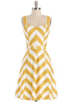 'Atta Twirl Dress. There you go again, spinning through your day like the adorable stylista that you are.  #modcloth