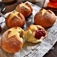 完成まで30分♪バター風味のテーブルパン
