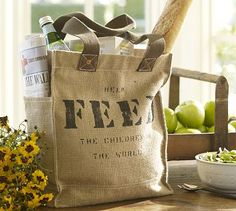 FEED Projects help fund UN food and clean water programmes and their bags are indispensible