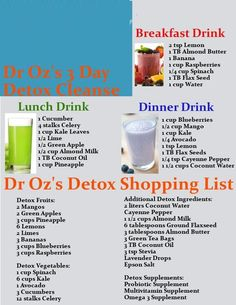 Detox Cleanse @Jess Pearl Liu Finch  I like this one!!