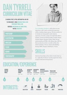 cv-original-dan-tyrrell If you like this cv template. Check others on my CV template board :) Thanks for sharing! Word Template, Cv Photoshop, Cv Web, Cv Curriculum Vitae, Cv Inspiration, Visual Resume, Graphic Design Resume, Graphic Designers, Infographic Resume