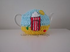 Beach Hut Tea Cosy - The Supermums Craft Fair