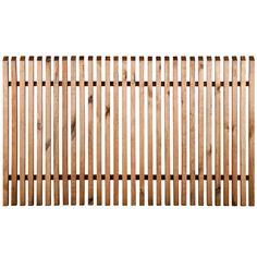 Cloture en bois Tiya 150 x h.90 cm - CASTORAMA