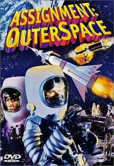 ASSIGNMENT: OUTER SPACE 1960 dvd cover