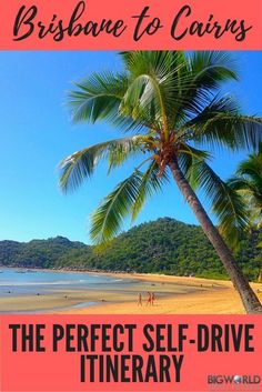 Driving from Brisbane to Cairns : The Perfect 20 Day Itinerary - Big World Small Pockets Coast Australia, Queensland Australia, Western Australia, Australia Travel, Australia Visa, Brisbane To Cairns, Australian Road Trip, Australian Continent, Perfect Road Trip