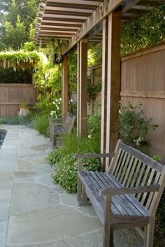 The wooden pergola is a good solution to add beauty to your garden. If you are not ready to spend thousands of dollars for building a cozy pergola then you may devise new strategies of trying out something different so that you can re Diy Pergola, Small Pergola, Pergola Attached To House, Pergola Shade, Pergola Ideas, Pergola Roof, Covered Pergola, White Pergola, Cheap Pergola