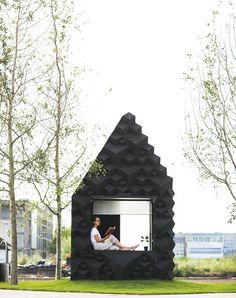 DUS architects urban cabin designboom
