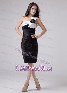 Knee-length Ruched Taffeta One Shoulder Prom Cocktail Dress