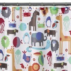 Kid's shower curtain