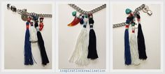 inspiration and realisation: DIY Fashion : DIY Matthew Williamson tassel necklace - details