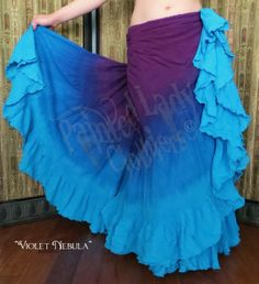 """Violet Nebula"" 25 Yard Petticoat Skirt  You can order yours here:  http://www.paintedladyemporium.com/Shop-Here.html"