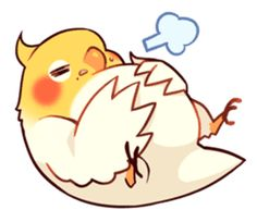 32 New Ideas For Funny Bird Drawing Illustrations Cute Animal Drawings, Bird Drawings, Cartoon Drawings, Cute Drawings, Funny Birds, Cute Birds, Bird Painting Acrylic, Dibujos Cute, Bird Artwork