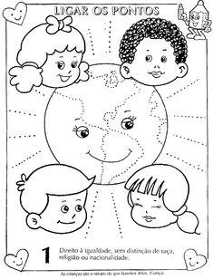 Estatuto da Criança e do Adolescente ilustrado para colorir! - ESPAÇO EDUCAR