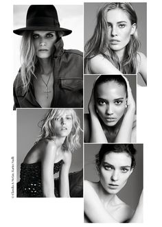 Top models of 2012: Between unexpected comebacks, classic supermodels and new faces at Vogue Paris, we take a look back at the top models who made their mark in 2012.