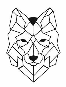 """Fantastic """"metal tree wall art hobby lobby"""" info is available on our website. Read more and you wont be sorry you did. Geometric Wolf, Geometric Drawing, Metal Tree Wall Art, Metal Wall Decor, Fish Wall Decor, Barn Quilts, Art Drawings Sketches, String Art, Design Art"""