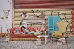 Flowers & Champagne: A Bushwick Fairytale with Rent Patina (Lookbook shoot)