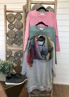 Cozy pocket sweatshirts in new spring colors!