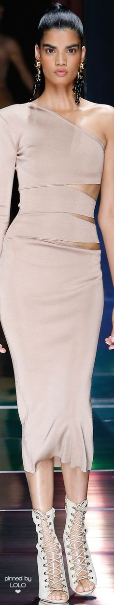 BALMAIN SPRING 2016 RTW   LOLO❤︎ women fashion outfit clothing style apparel @roressclothes closet ideas