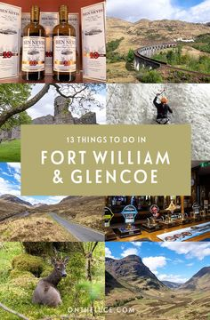 13 things to do in Fort William and Glencoe, Scotland 13 of the best things to do in Fort William and Glencoe in the Scottish Highlands, from hiking and climbing to cosy pubs and historic tales. Inverness Scotland, Glencoe Scotland, Glasgow Scotland, England And Scotland, Highlands Scotland, Skye Scotland, Scotland Girl, Scotland Food, Travel
