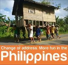 Still the Best Medicine.....: Change of Address in the Philippines- Bayanihan!