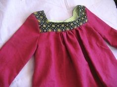 Epattern/Instructions MY PARISIAN DRESS- with endless options- 2T to 5T. $5.50, via Etsy.