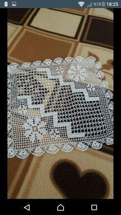 Crochet Border Patterns, Christmas Crochet Patterns, Crochet Diagram, Filet Crochet, Sewing Patterns, Crochet Tablecloth, Crochet Doilies, Crochet Carpet, Stylish Dress Designs