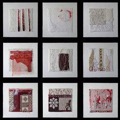 Family Ties - accepted into SAQA: A Sense of Scale-Lyric Kinard Textile Texture, Textile Fiber Art, Fibre Art, Lyrics On Canvas, International Quilt Festival, Quilt Modernen, Lyric Art, Lyric Quotes, Music Lyrics