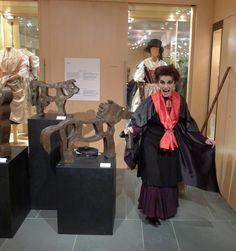 La terribile Svalazza ha trasformato gli animali in ferro...Personaggi delle Dolomiti al Museo Etnografico delle Regole d'Ampezzo
