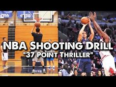 Basketball Drills 37 Point Thriller Shooting -