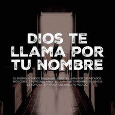 Dios conoce tu pecado pero te llama por tu nombre su Gracia es suficiente y mayor que nuestro pecado.