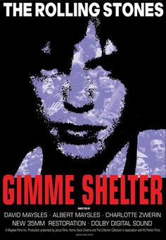 The Rolling Stones - Gimme Shelter - Mini Print A
