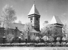 Agnethler Kirchenburg im Winter