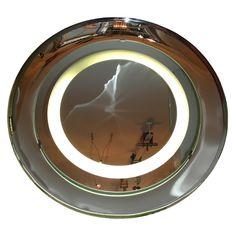 1960s Lighted Mirror by Fontana Arte
