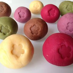 Homemade Naturally Colored Play Dough. You Could Even Use Other Natural Colorants From Boiled Down Fruits And Veggies Or Other Powders Like Turmeric.
